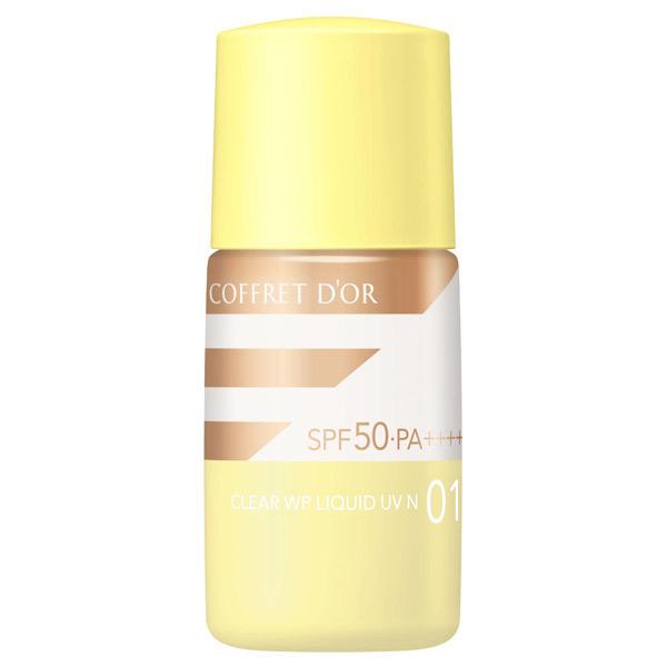 【数量限定】クリアWPリクイドUV n / SPF50 / PA++++ / 本体 / 01 明るめの肌の色 / 18ML