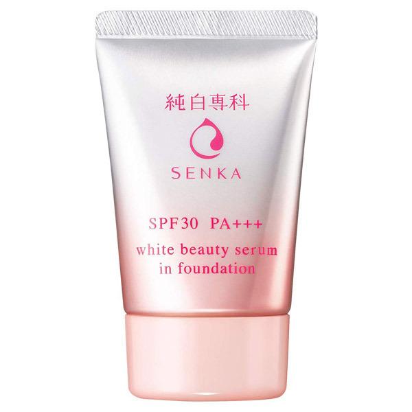 純白専科 すっぴん色づく美容液フォンデュ / SPF30 / PA+++ / ナチュラルベージュ / 30g / 無香料