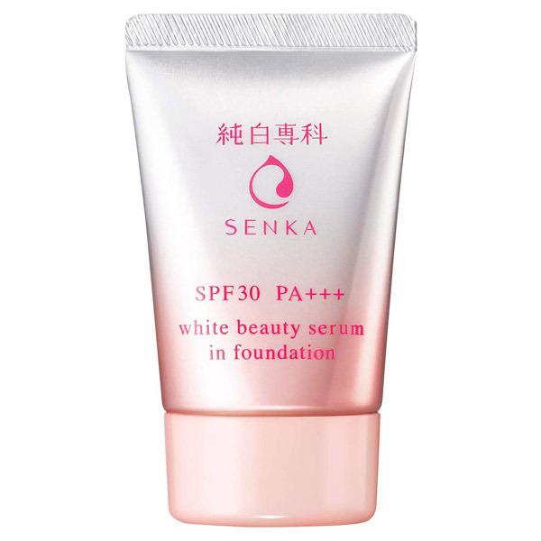 純白専科 すっぴん色づく美容液フォンデュ / SPF30 / PA+++ / ライトベージュ / 30g / 無香料