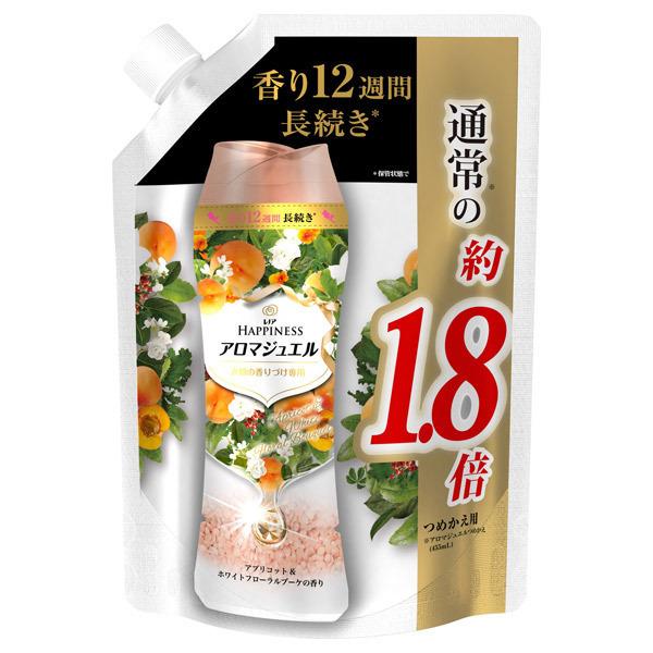レノアハピネス アロマジュエル アプリコットホワイトフローラルブーケの香り / 詰替え / 805ml 特大サイズ