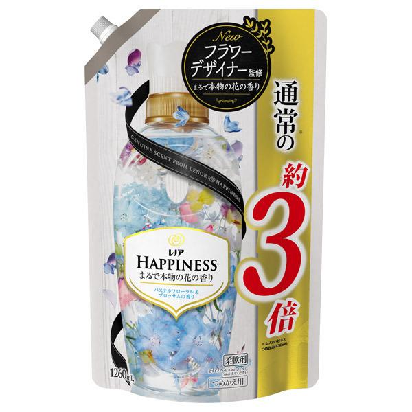 レノアハピネス パステルフローラル&ブロッサムの香り / 詰替え / 1260ml 超特大サイズ