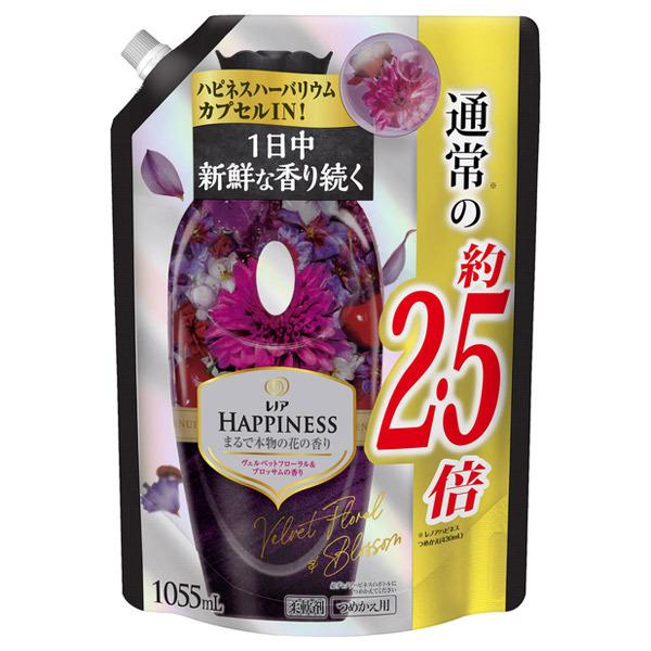 レノアハピネス ヴェルベットローズ&ブロッサムの香り / 詰替え / 1055ml 特大サイズ