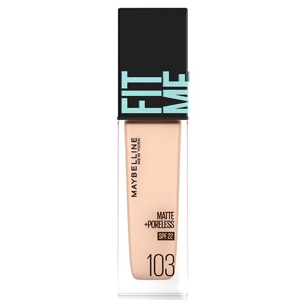 フィットミー リキッド ファンデーション R / SPF22 / 103 明るい肌色(ピンク系) / 30ml