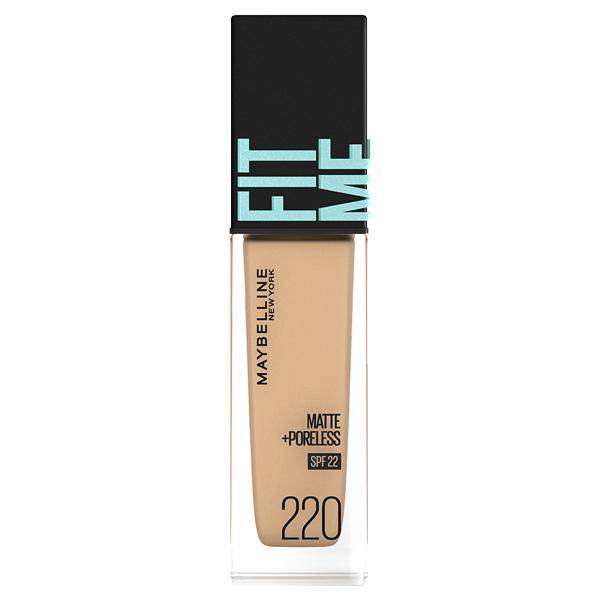フィットミー リキッド ファンデーション R / SPF22 / 220 健康的な肌色(イエロー系) / 30ml