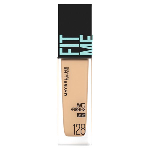 フィットミー リキッド ファンデーション R / SPF22 / 128 標準的な肌色(イエロー系) / 30ml