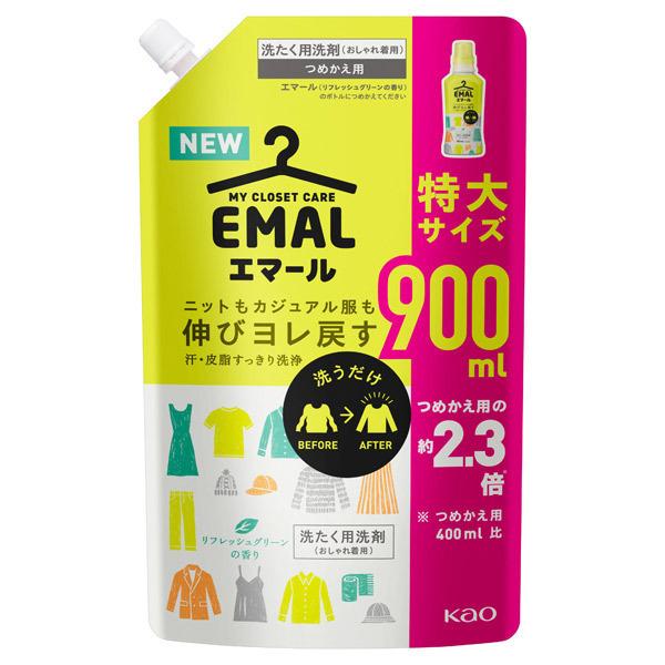 エマール リフレッシュグリーンの香り / 詰替え / 900ML / リフレッシュグリーンの香り