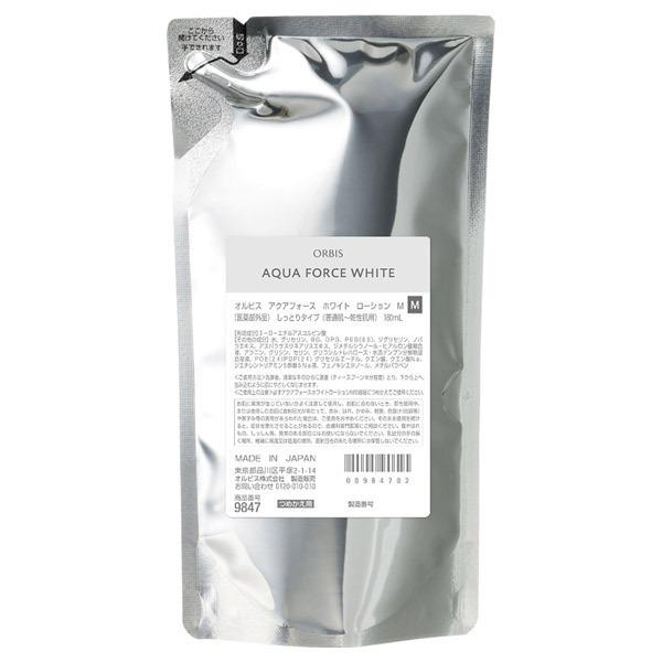 アクアフォース ホワイトローション M(しっとり) / 詰替え / 180mL / 無香料
