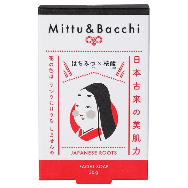Mittu&Batti フェイシャルソープ / 本体 / 30g / さっぱり / はちみつの香り