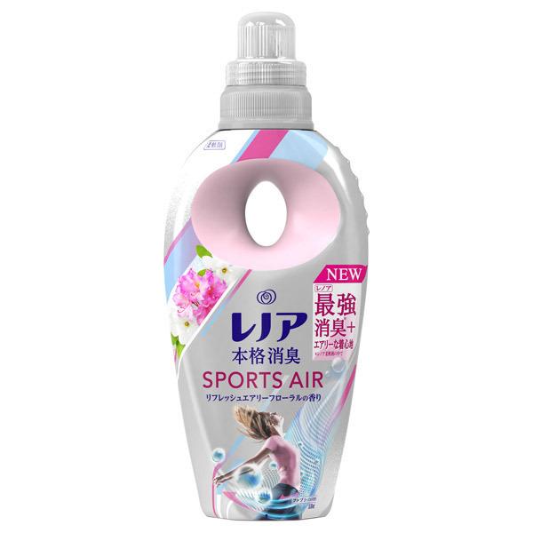 レノア本格消臭スポーツエアー リフレッシュエアリーフローラルの香り / 本体 / 530ml / リフレッシュエアリーフローラルの香り