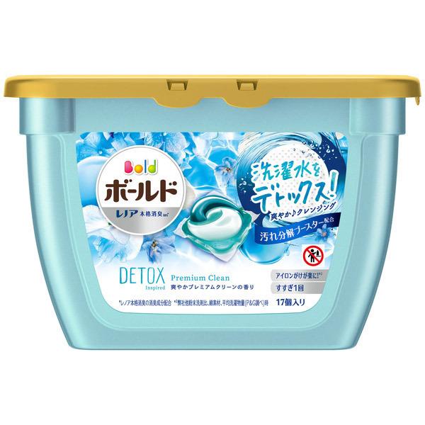 ボールドジェルボール3D 爽やかプレミアムクリーンの香り / 本体 / 17個 / 爽やかプレミアムクリーンの香り