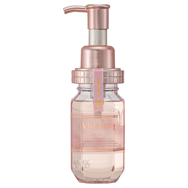 &honey Melty モイストリペアヘアオイル3.0 / 100ml / シャワーローズハニーの香り