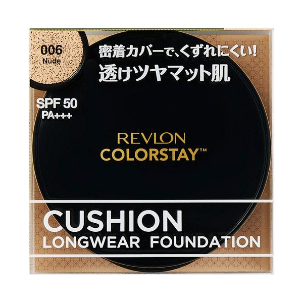 カラーステイ クッション ロングウェア ファンデーション / SPF50 / PA+++ / 本体 / 006 ヌード / 14g