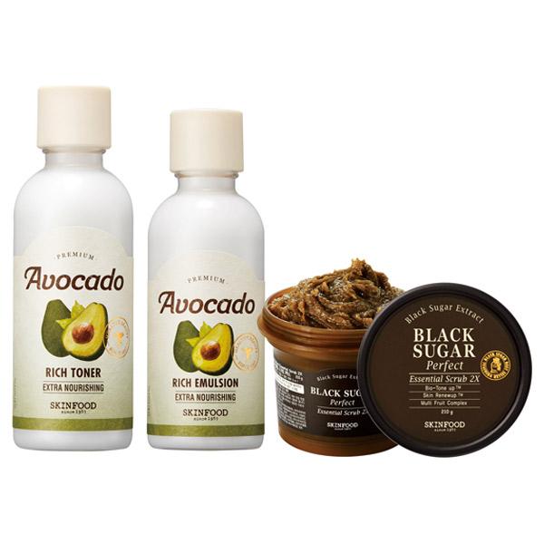 オンライン限定 プレミアムアボカド スペシャルケアセット / 本体 / うるおい