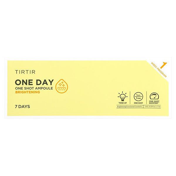 ONE DAY ONE SHOT AMPOULE BRIGHTENING / 本体 / 3ml×7個