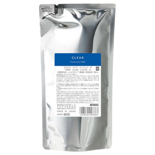 クリアローション M(しっとりタイプ) / 詰替え / 180mL / 無香料