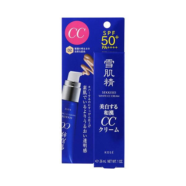 ホワイト CCクリーム / SPF50+ / PA++++ / 本体 / 【02】 普通の明るさの自然な肌色 / 30g / モダンフローラル