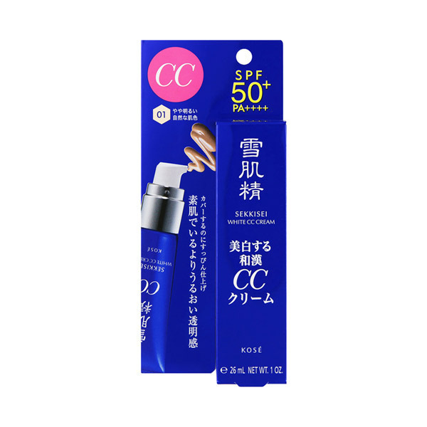 ホワイト CCクリーム / SPF50+ / PA++++ / 本体 / 【01】 やや明るい自然な肌色 / 30g / モダンフローラル