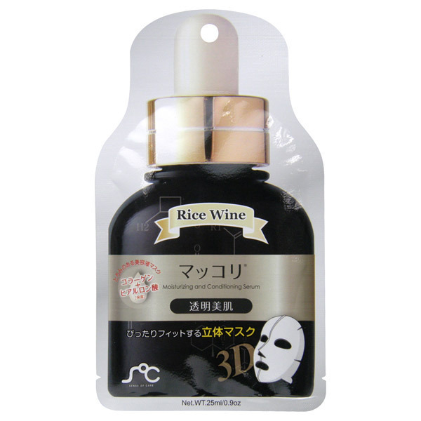 3D美容液フェイスマスク マッコリ / 本体 / 20枚