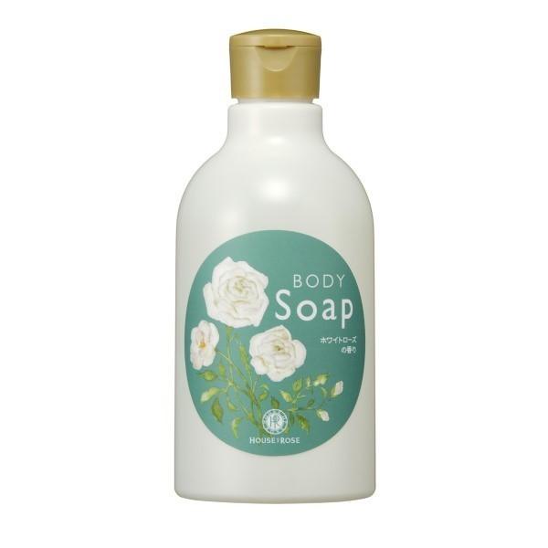 【数量限定】ボディソープ WR / 本体 / 300mL / ホワイトローズの香り