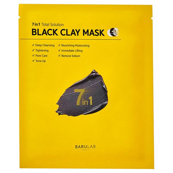BLACK CLAY MASK / 本体 / ブラック / 1枚 18g
