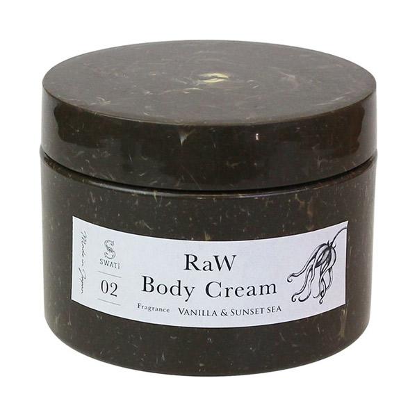 RaW Body Cream(Vanilla & Sunset sea) / 本体 / 200g