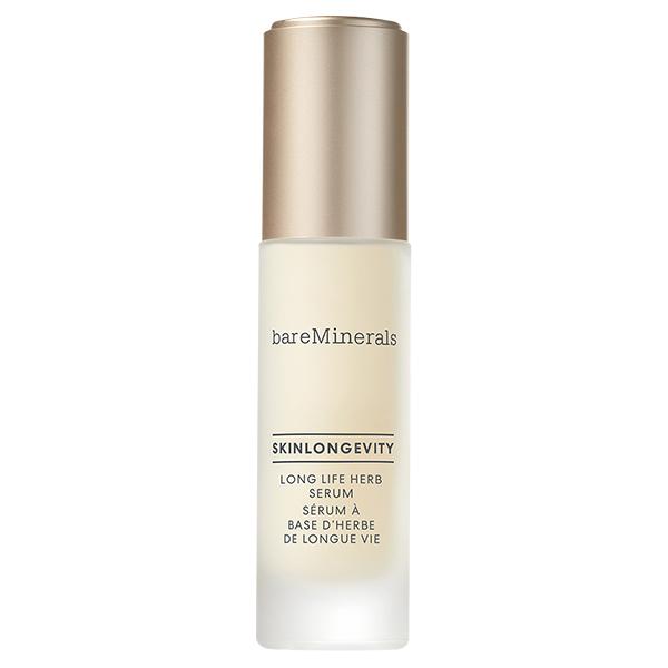 スキンロンジェヴィティ ロングライフハーブ セラム / 50mL / 本体 / ベルガモットとユーカリの香り(天然由来香料) / 肌自らが吸い込むようにしみわたる、やわらかな優しさにあふれた上質 なテクスチャー