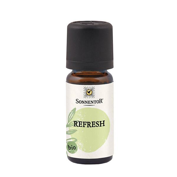 オーガニック エッセンシャルオイル リフレッシュ / 本体 / 10ml / 心が晴れるようなさわやかな香り