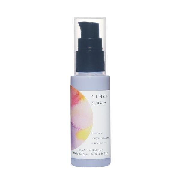 オーガニックヘアオイル / 本体 / 50ml / すっきりとしたベルガモットの香り