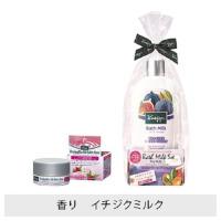 バスミルク イチジクミルクの香り 480mL+ビオオイル バーム ローズ15g / 480ml / イチジクミルク