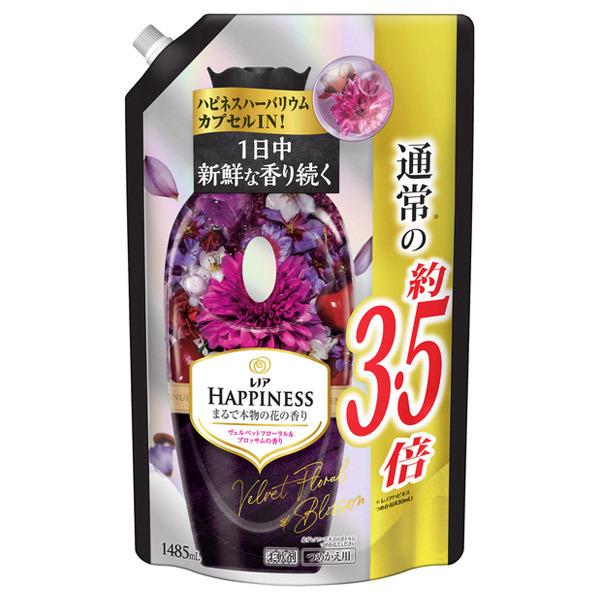 レノア ハピネス ヴェルベットフローラル&ブロッサム / 詰替 / 1485ml / スズラン・バニラ・スウィートプラムが織りなす魅惑的でリッチな香り
