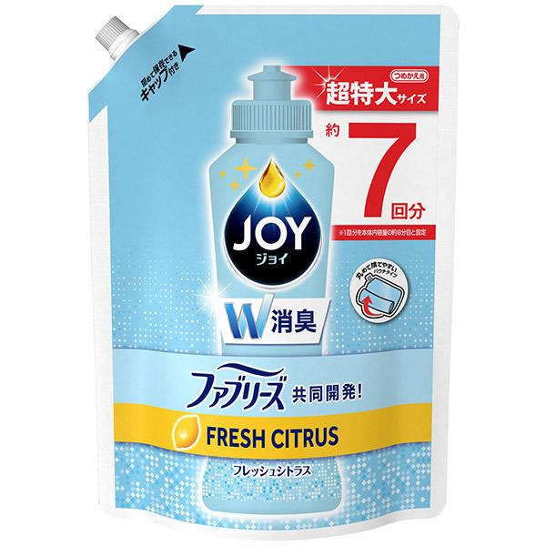 ジョイ コンパクト W消臭 / 詰替 / 960ml / フレッシュシトラスの香り