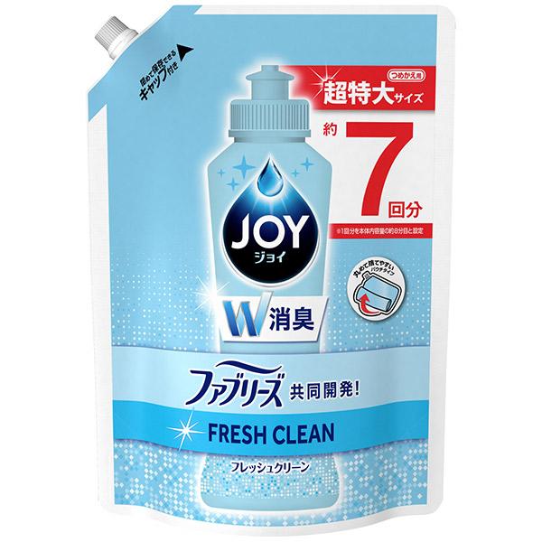 ジョイ コンパクト W消臭 フレッシュクリーン / 詰替 / 960ml / フレッシュクリーンの香り
