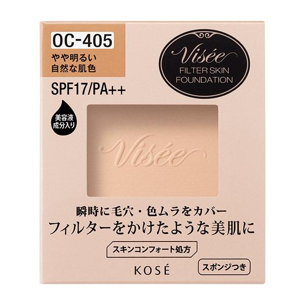 フィルタースキン ファンデーション / SPF17 / PA++ / レフィル / OC-405 / 10g / やさしく軽い使い心地 / 無香料