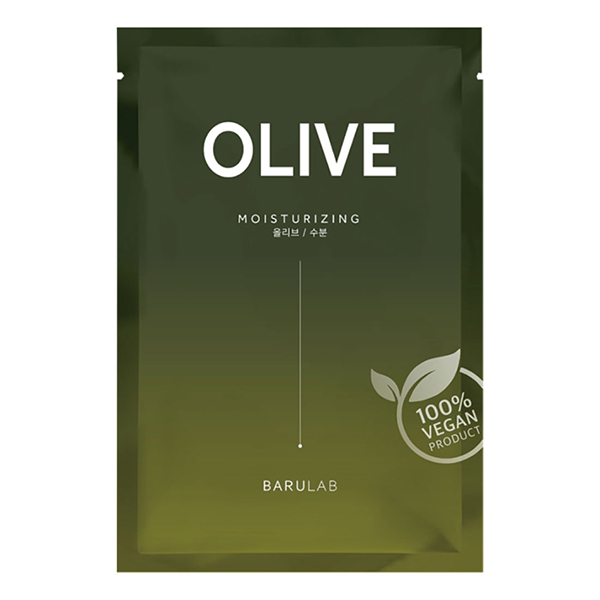 The Clean Vegan Mask Olive