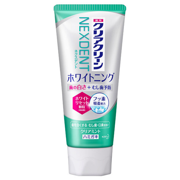クリアクリーンNEXDENT ホワイトニング / 本体 / 120g / クリアミントの香味