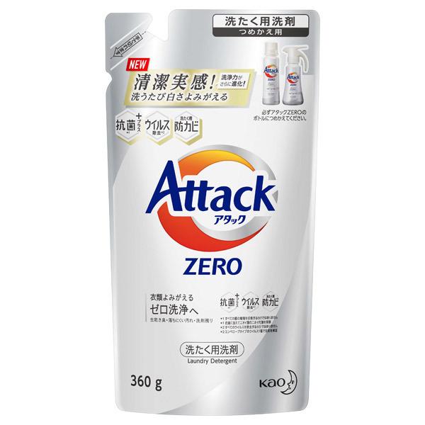 アタック ZERO / つめかえ用 / 360g / リーフィブリーズの香り(微香)